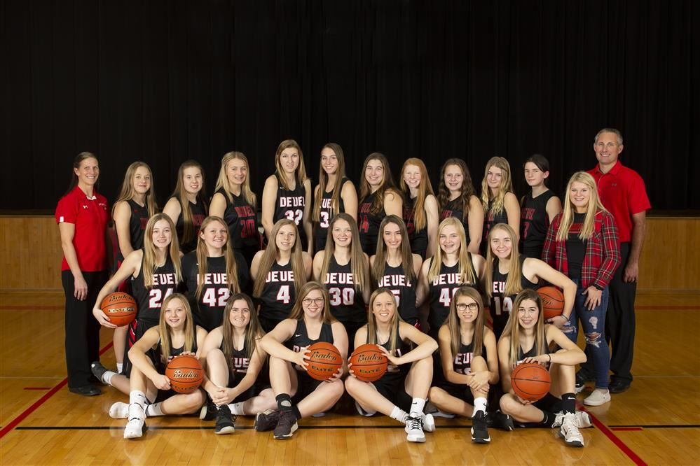 2020 Girls Basketball Team